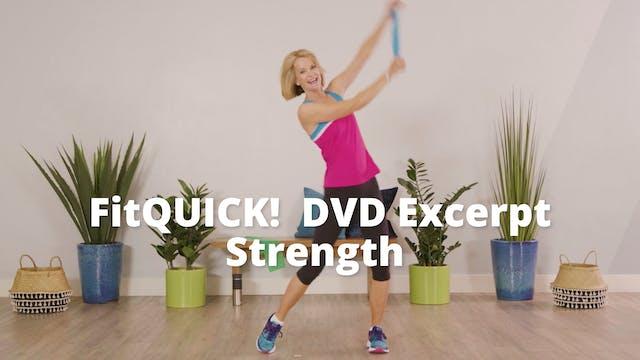 FitQUICK! DVD Excerpt     Strength