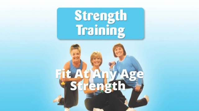 DVD Excerpt: Fit At Any Age Strength Training