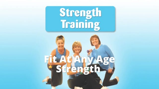 DVD Excerpt: Fit At Any Age Strength ...