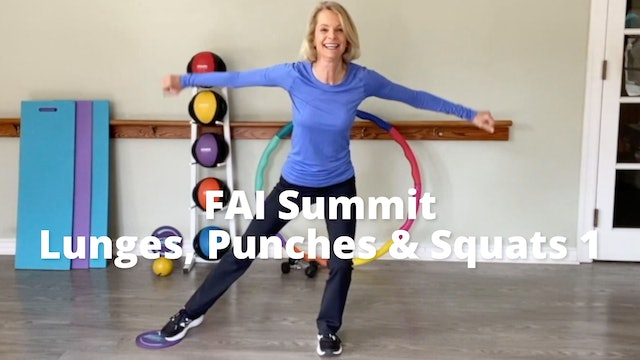 FAI Summit   Lunges, and Punches and Squats, OH MY!  Part 1