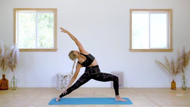 15 minute Yoga Flow (feel good)