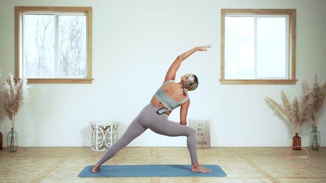 15 minute Active Yoga Flow (relaxing)