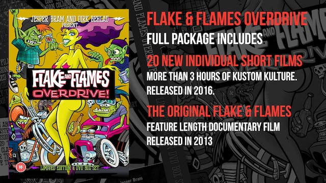 Flake & Flames Overdrive - Full Package