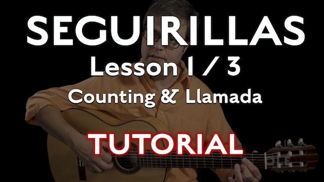 Seguirillas Lesson 1/3 - Counting and Llamada - TUTORIAL