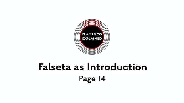 Solea Falseta As Introduction Page 14