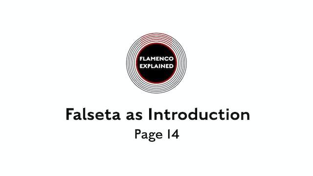 Solea Falseta As Introduction Page 14
