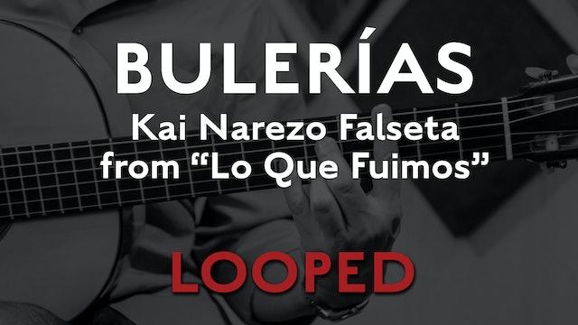 Friday Falseta - Bulerias Falseta by Kai Narezo from Lo Que Fuimos - LOOP