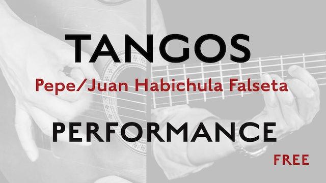 Friday Falseta - Tangos - Pepe/Juan Habichuela Falseta - Performance