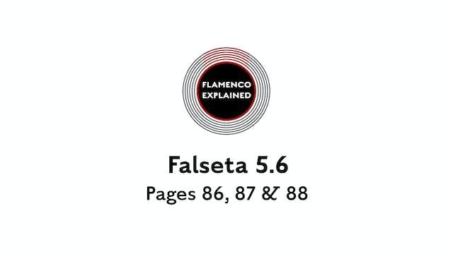 Bulerias Falseta Pages 86, 87 & 88