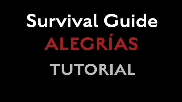 Survival Guide - Alegrias