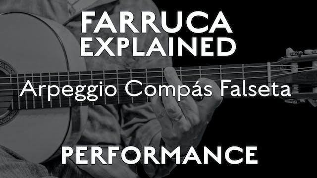 Farruca Explained - Arpeggio/ Compás ...