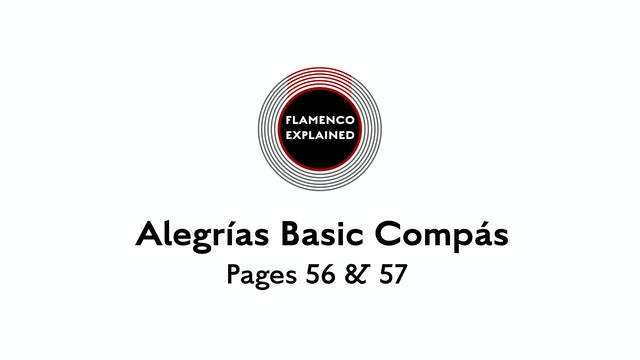 Alegrias Basic Compas Pages 56 & 57