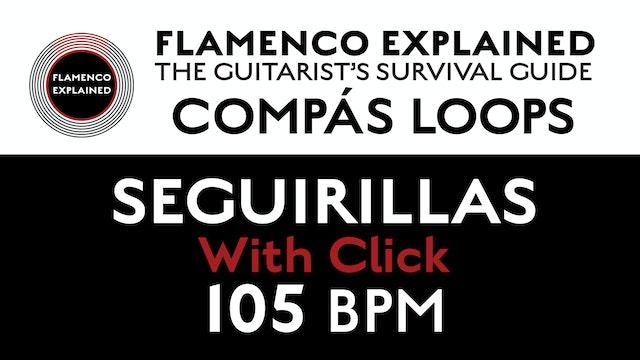 Compás Loops - Seguirilla - With Click 105 BPM