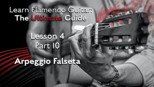 Lesson 4 - Part 10 - Arpeggio Falseta
