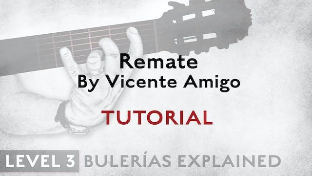 Bulerias Explained - Level 3 - Remate...