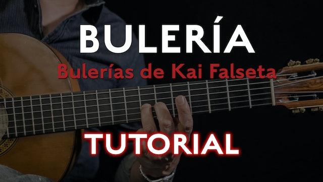 Friday Falseta - Bulerias de Kai Falseta - Tutorial