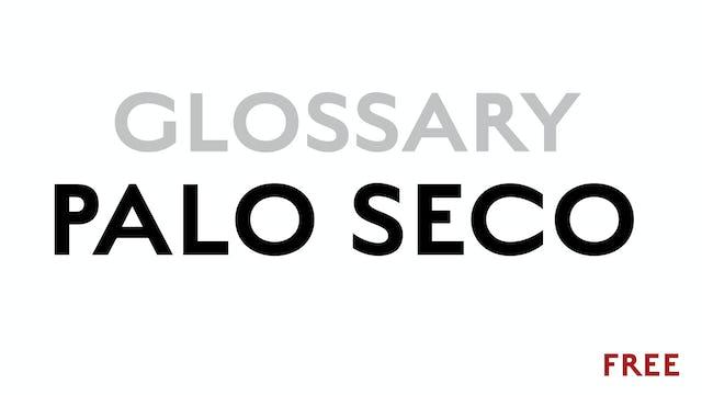 A Palo Seco - Glossary Term