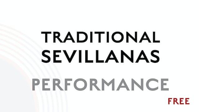 Traditional Sevillanas - Performance
