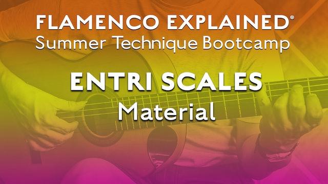 Technique Bootcamp - Entri Scales (Advanced) Material