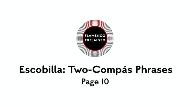 Solea Escobilla Two-Compas Phrases Pa...