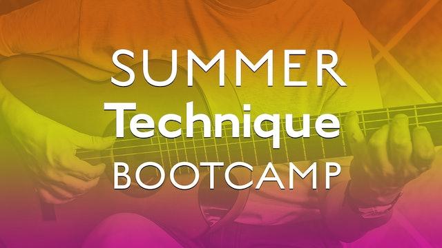 Summer Technique Bootcamp