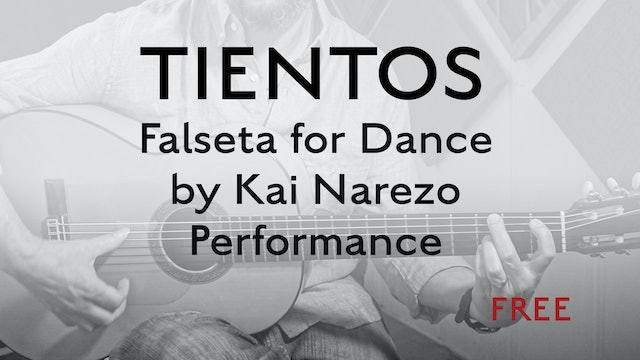 Tientos Explained - Falseta For Dance by Kai Narezo - Performance