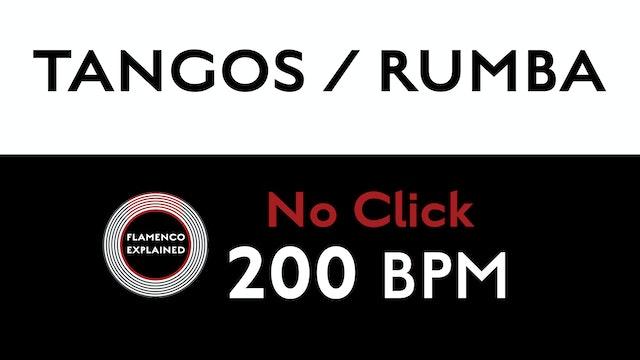Compás Loops - Tangos/Rumba - 200 BPM - No Click