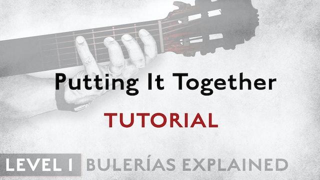 Bulerias Explained - Level 1 - Putting It Together - TUTORIAL