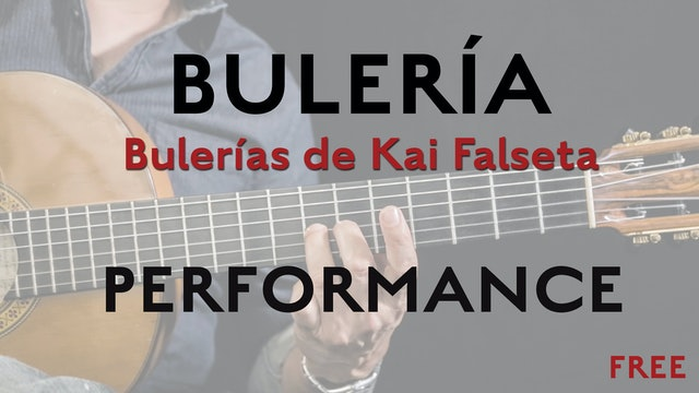 Friday Falseta - Bulerias de Kai Falseta - Performance