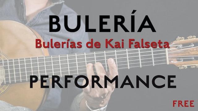 Friday Falseta - Bulerias de Kai Falseta - Performance