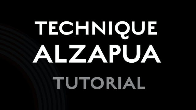 Technique - Alzapua - Tutorial