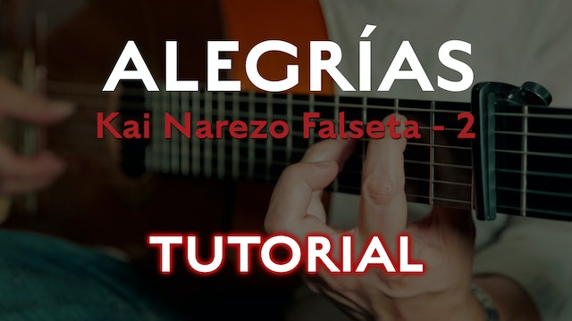 Friday Falseta Kai Narezo Alegrias Falseta #2 - Tutorial