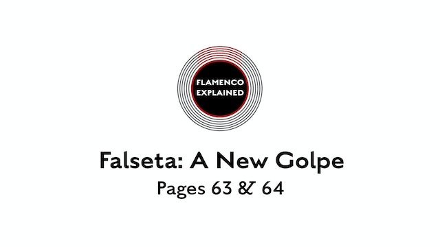 Alegrias Falseta A New Golpe Pages 63 & 64