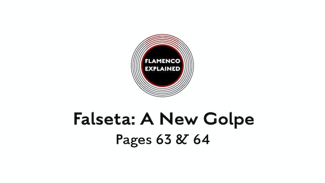 Alegrias Falseta A New Golpe Pages 63...