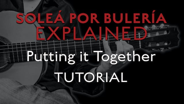 Solea Por Bulerias Explained - Puttin...