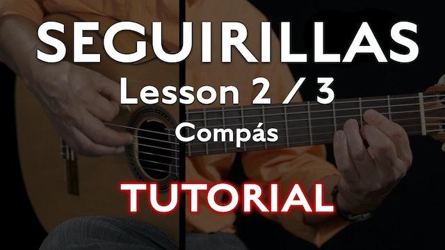 Seguirillas Lesson 2/3 - Compás - TUTORIAL