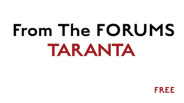 Taranta - From The Forums - FREE