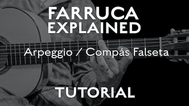 Farruca Explained - Arpeggio/Compás f...