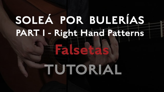 Solea Por Bulerias Right Hand Patterns Falsetas