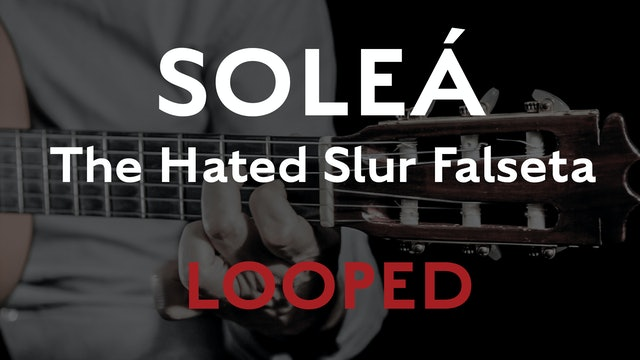 Friday Falseta - Hated Solea Slur Falseta - LOOPED