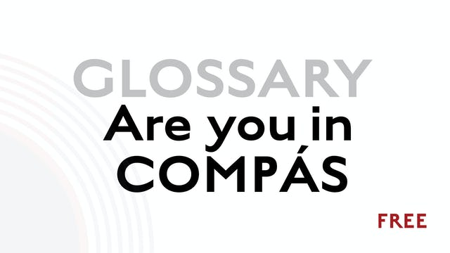 Compas - Are you In it? - Glossary Term
