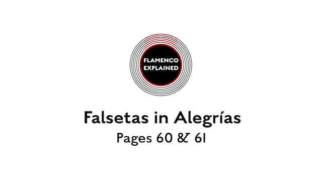 Alegrias Falsetas Pages 60 & 61