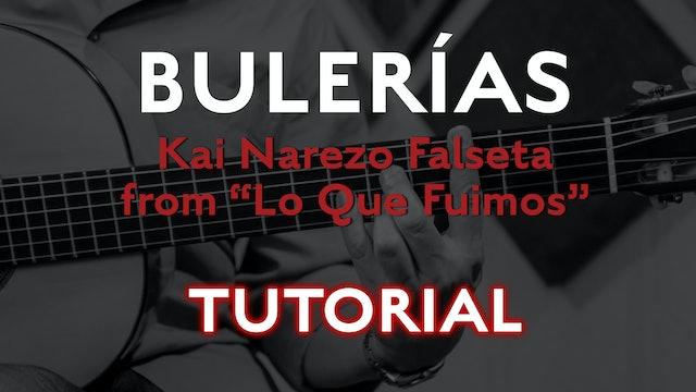 Friday Falseta - Bulerias Falseta by Kai Narezo from Lo Que Fuimos - Tutorial