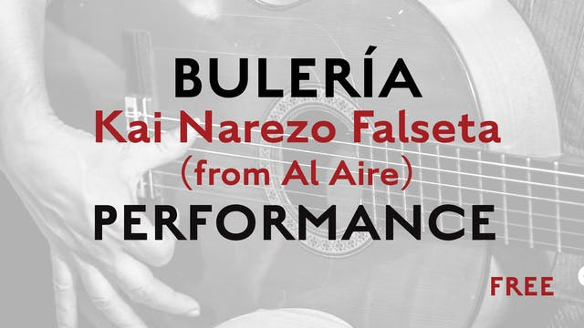Friday Falseta - Buleria - Kai Narezo...