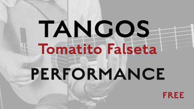 Friday Falseta - Tangos - Tomatito Falseta - Performance