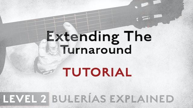 Bulerias Explained - Level 2 - Extending The Turnaround - TUTORIAL