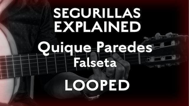 Seguirillas Explained - Quique Paredes Falseta - LOOPED