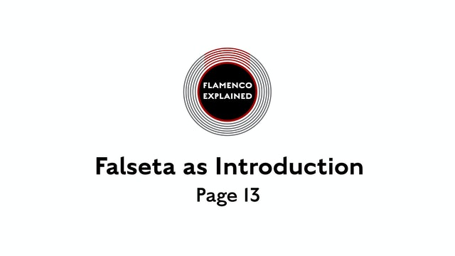 Solea Falseta As Introduction Page 13