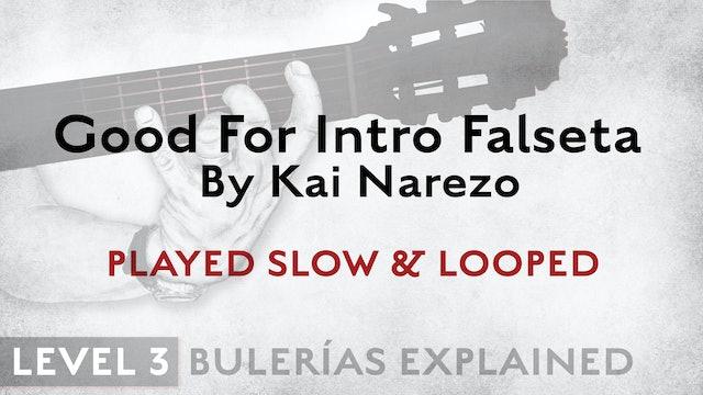 Bulerias Explained - Level 3 - Good For Intro Falseta by Kai Narezo - SLOW/LOOP