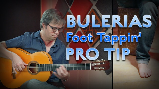 Buleria Foot Tapping